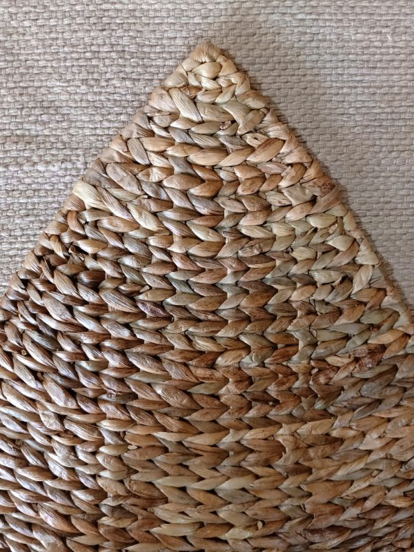 hand woven leaf placemat